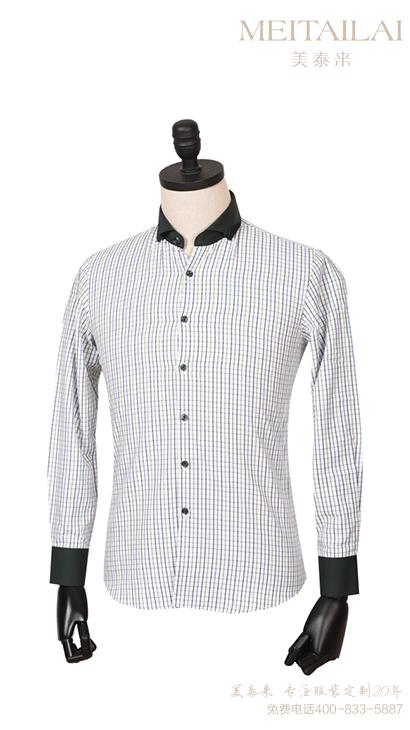 条纹衬衫 男式衬衫