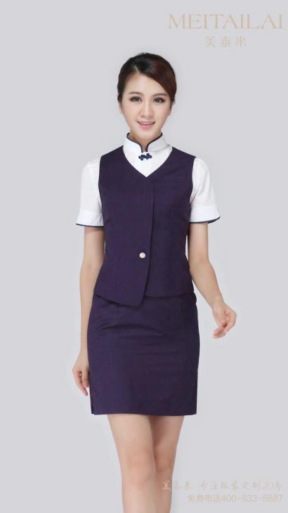 成都中式风酒店服装订制