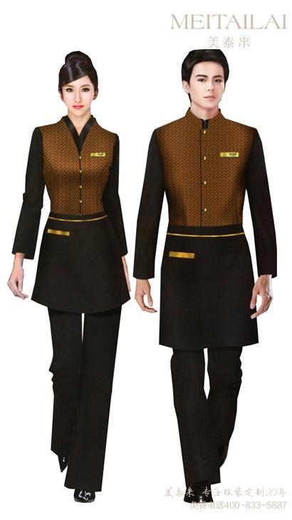 成都时尚休闲风酒店服装生产